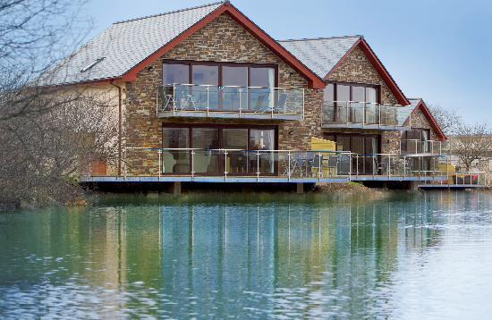 Retallack Resort and Spa: Our Fistral lakeside houses