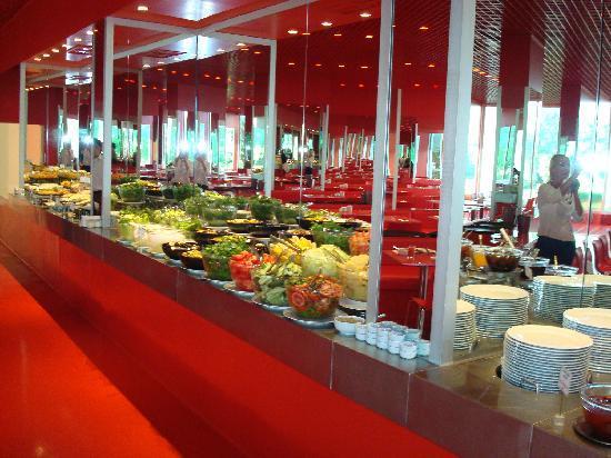 Hotel Su: Das Buffet