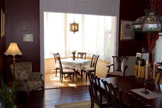 Au Manoir de Levis - Gite le Rosier: Petit déjeuner  /produits du terroir