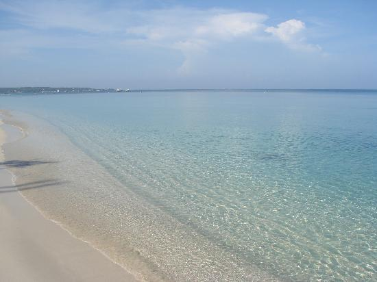 Beautiful Negril Beach and Blue Water