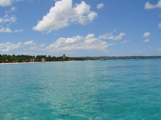 Νεγκρίλ, Τζαμάικα: beautiful blue, clear water