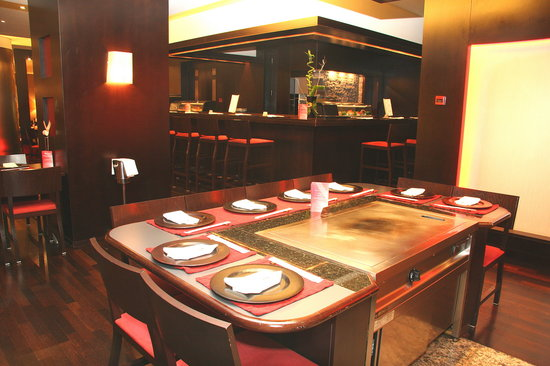Teppen Table Review Of Benihana Restaurant Bucharest Romania - Teppan table