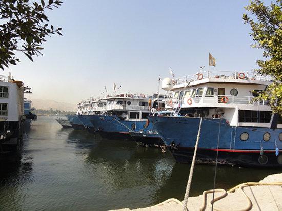 Venice Hosokawaya - Day Tours : 停泊中の船