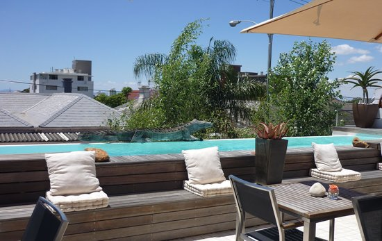 Dysart Boutique Hotel : terrasse and pool