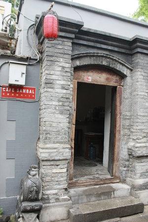 Cafe Sambal : Restaurant Entrance