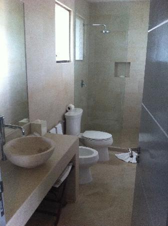 Hotel Jashita: Bathroom..