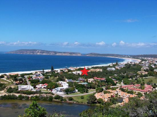ABERNi on Sea: Arial View Plettenberg Bay