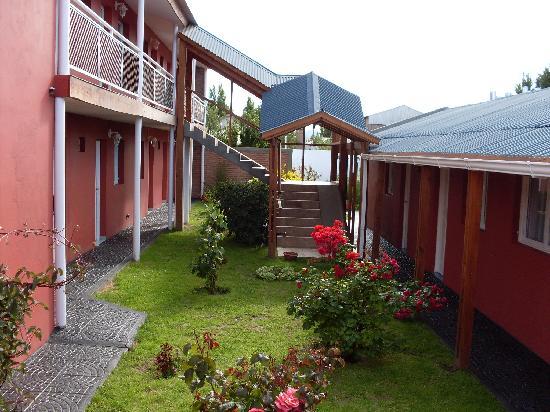 Hosteria Patagonia: patio