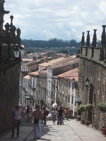Santiago de Compostela (เมืองซานเตียโก เด กอมปอสเตลา), สเปน: Santiago de Compostela