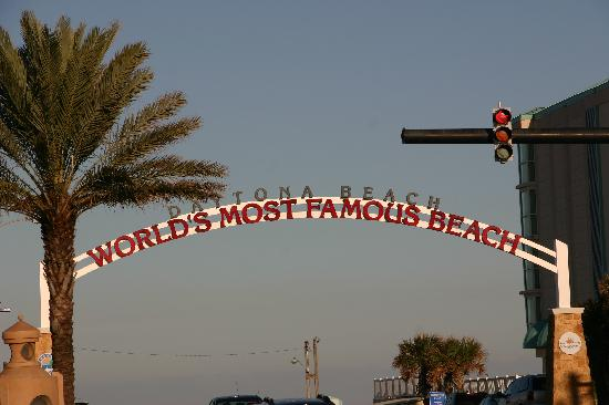 Daytona Beach, فلوريدا: Strandzufahrt