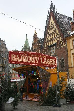 Wroclaw, Poland: Weihnachtsmarkt von Breslau