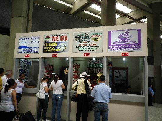 Pereira, Colombie : きっぷ売り場