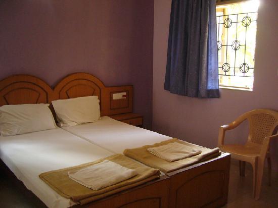 Palolem Guest House: Ma chambre avec clim