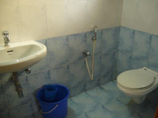 Palolem Guest House: La salle de bain