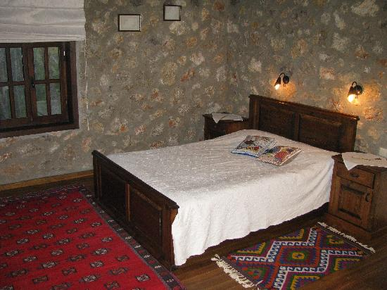 Dikencik Cottages : double bedroom