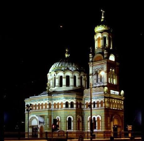 "Lodz, Poland: il tempio ortodosso di ""Aleksander Nievskij"""
