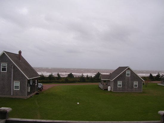 Tignish, Kanada: From our cottage looking at the ocean