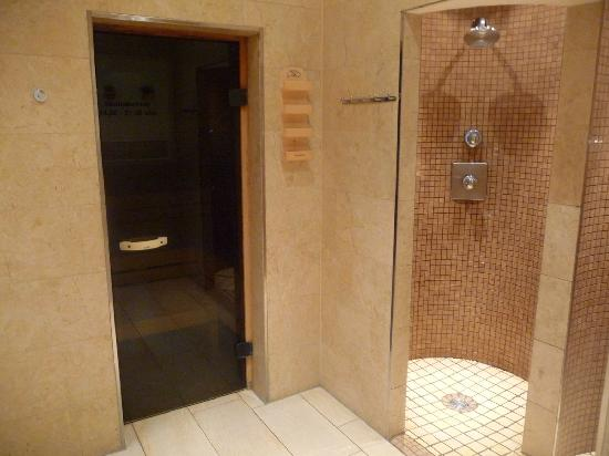 Elb-Residence Appartements: le sauna