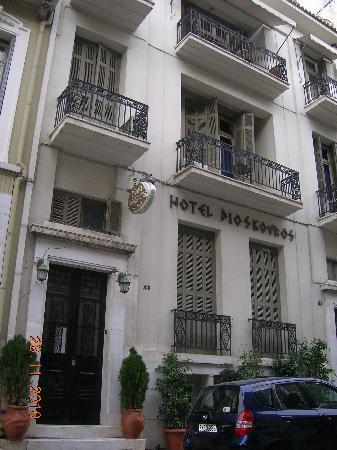 Hotel Dioskouros: hotel fascia