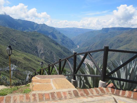 Parque Nacional de Chicamocha: Stairs