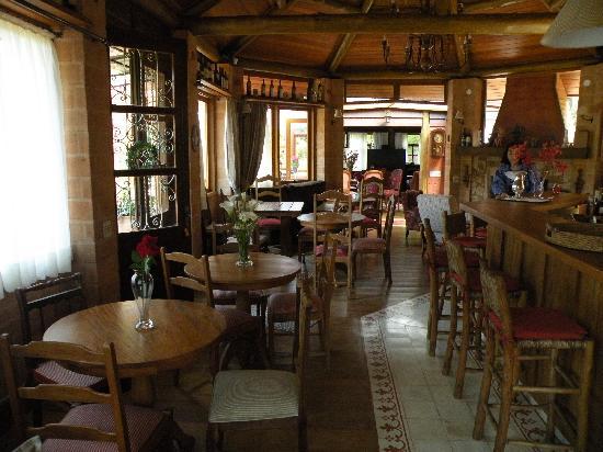 Vale do Lajeado Chales: breakfast area