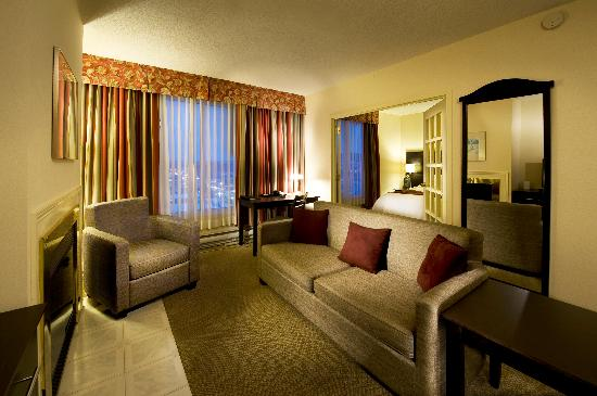 Delta Sherbrooke Hotel and Conference Center: suite Junior Deluxe