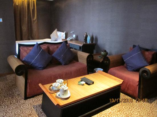 Christian's Hotel : Living Area with Bedroom #2