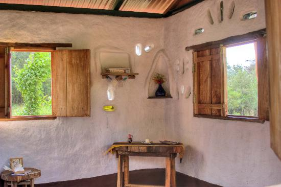 Finca Mystica: one of our cob cabins