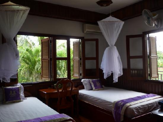 Bloom Garden Guesthouse Villa: Twin Room