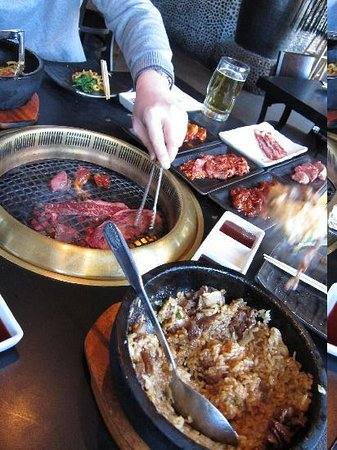 Gyu-Kaku Japanese BBQ Dining: Table full of meat!
