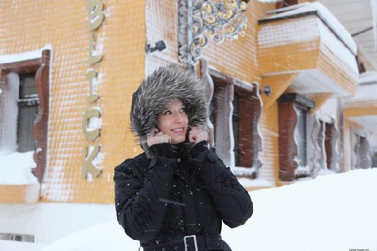 Winterliches Bio & Wellnesshotel Alpenblick in Höchenschwand