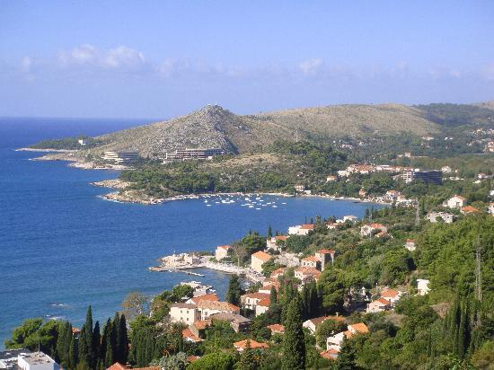 Mlini, Croatia: View from that hill