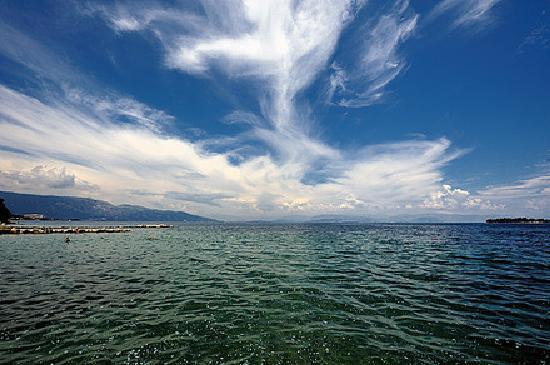 Kontokali, Greece: View - beach