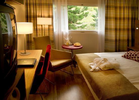 Scandic Holmenkollen Park: Standard single room