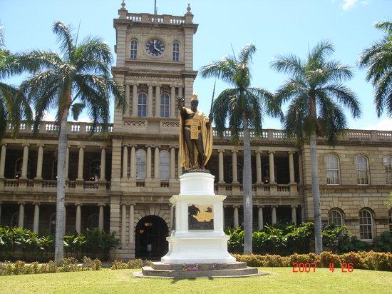King Kamehameha Statue: カメハメハ像
