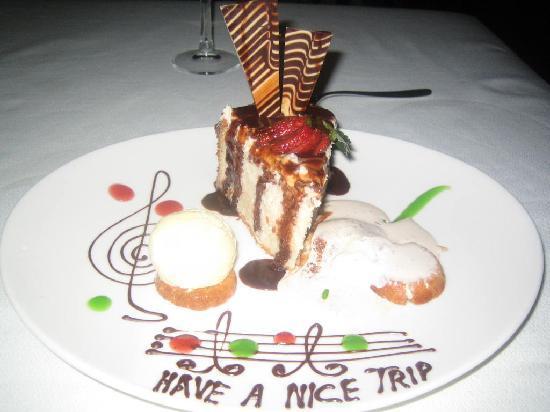 El Dorado Sensimar Riviera Maya: Farewell Cake