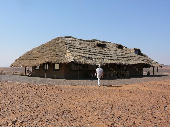 Meroe Tented Camp: Main building