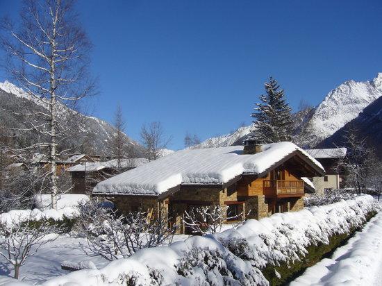 Ski Breezy - Chalet D'Ile: Ski Breezy chalet Chamonix
