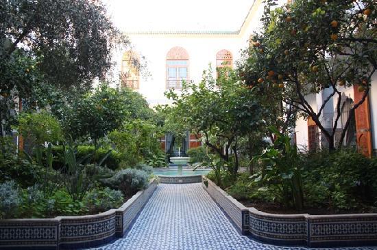 Palais Amani: Le Patio & la Fontaine