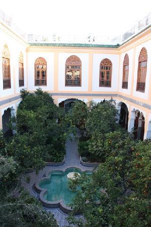 Palais Amani: Le Patio en Surplomb