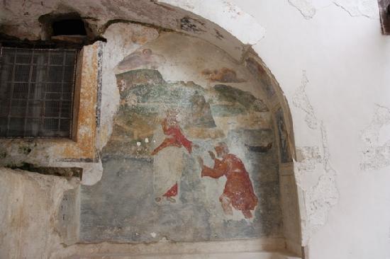 NH Collection Grand Hotel Convento di Amalfi : Une Mosaïque subsistant de l'ancien Cloître #1