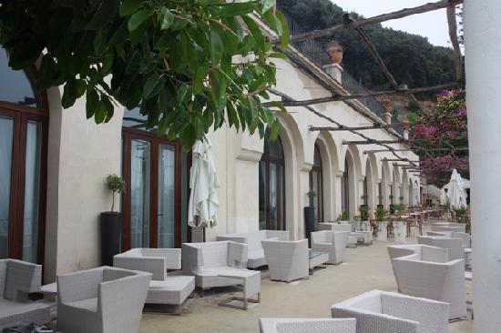 NH Collection Grand Hotel Convento di Amalfi : La principale Terrasse de l'Hôtel