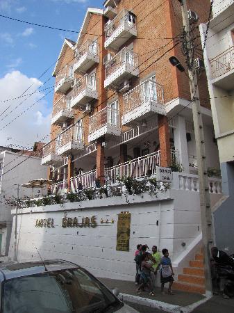 Hotel Brajas : Voorkent hotel