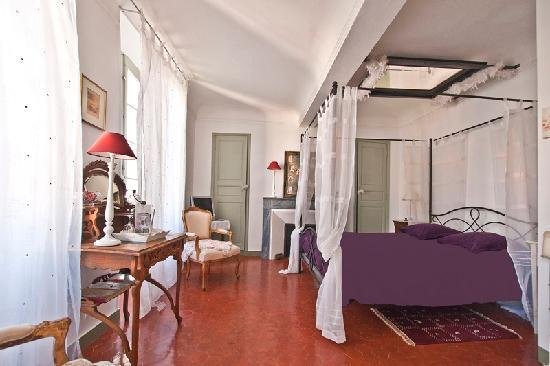 Lorgues, France: Chambre coquine