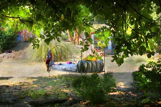 Lorgues, France: détente dans le jardin