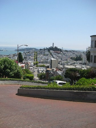 Lombard Street: View from Lombardy Street