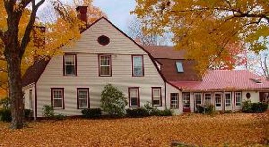 The Seven Hearths Bed & Breakfast: The Seven Hearths in fall