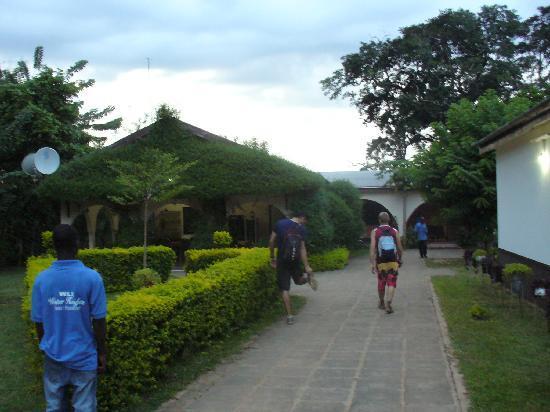 Hohoe, Ghana : Entrance
