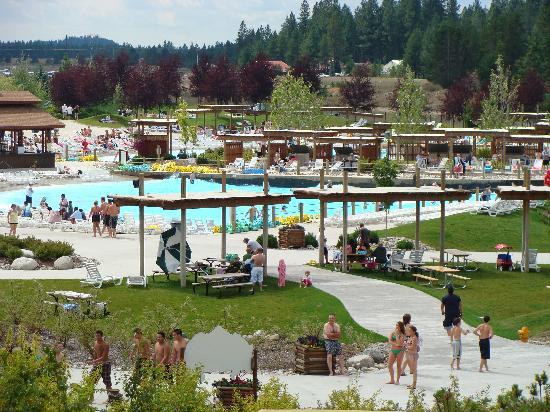 Athol, ID: Boulder Beach Water has over 16 acres of fun.
