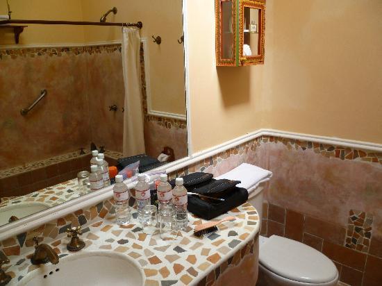 Hotel Casa Vértiz: bathroom